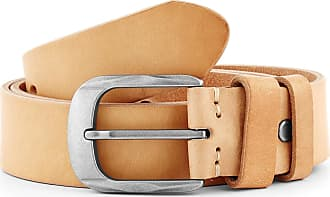 Smooth Cameo Brown Leather Belt Trendhim