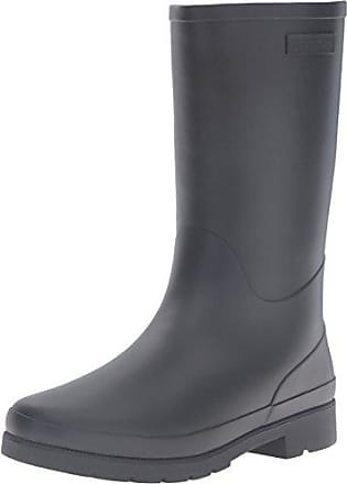 Tretorn Women's Lina Wnt Rain Boot, Black/Black, 7 M US
