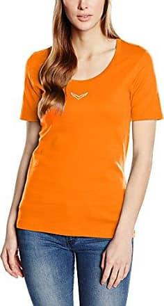 More & More T-Shirt, Camiseta para Mujer, Naranja (Orange 0433), 42
