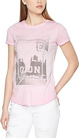 Boxy Crew Shirt Artwork, T-Shirt Femme, Rouge (Scarlet Red 6005), 36 (Taille Fabricant:XS)True Religion
