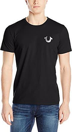 Crafted w/Pride, Camiseta para Hombre, Blue (09 Navy 4814), X-Large True Religion