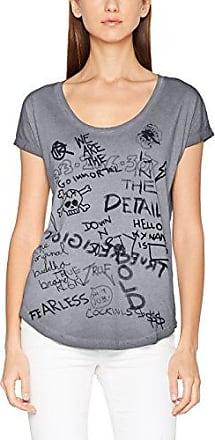 True Religion Big, Camiseta de Tirantes para Mujer, Blanco/Azul, M