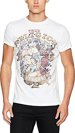 Double Puff, Camiseta para Hombre, Azul (Agave 3512), Medium True Religion