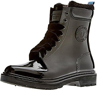 Trussardi Jeans 79a00002-9y099999, Bottes et Bottines de Pluie Femme, Noir (Nero), 41 EU