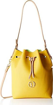 Eyes Flap Bag S 4080002144, Damen Schultertaschen, Gelb (light yellow 151), 20x15x6 cm (B x H x T) Gerry Weber