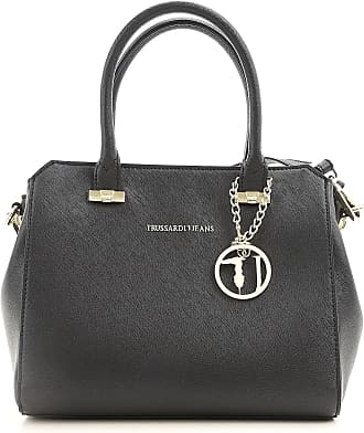 Trussardi Tote Bag On Sale, Biscuit, Eco Saffiano, 2017, one size