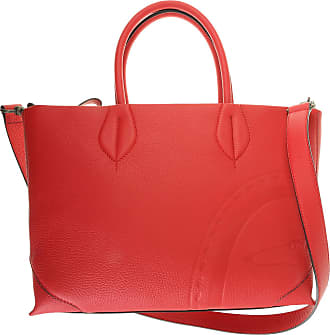 Trussardi Tote Bag On Sale, Flame Red, Leather, 2017, one size