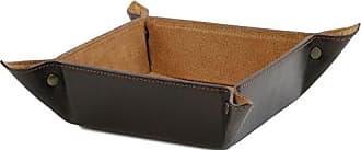 Tuscany Leather - Elégant videpoches en cuir petit modèle - Rouge - Homme