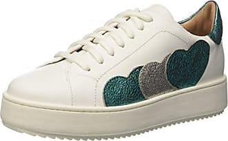 Twin Set Cs8pnc, Zapatillas de Gimnasia Para Mujer, Blanco (Bianco Ottico), 35 EU