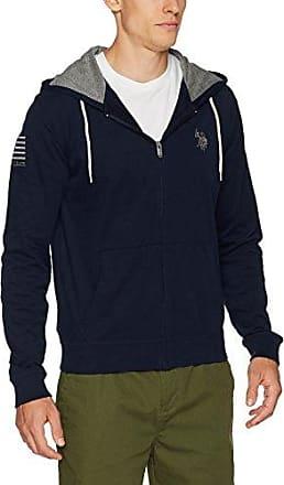 US Polo 42670, Suéter para Hombre, Azul (Navy), (Talla del Fabricante: Large) U.S.Polo Association