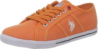 US Polo Assn Botter2, Baskets mode femme - Orange, 40 EUU.S.Polo Association