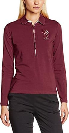 U.S.Polo Association Lady Player Polo LS, Camiseta para Mujer, Crema, XS