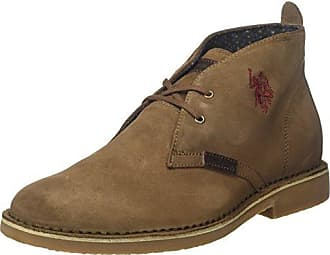 U.S.POLO ASSN. Damen Sally Suede Desert Boots, Beige (Taupe Tau), 37 EU