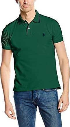 Polos à manches courtes Blueblack verts homme