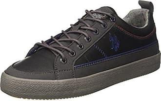 U.S.Polo ASSN. Hombre VIGOR4200W7/LS1 Zapatillas Altas Negro Size: 45 EU U.S.Polo Association