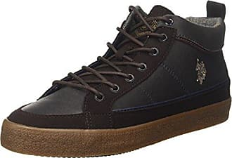 U.S.Polo ASSN. Shan, Botas Desert para Hombre, Marrón (Dark Brown Dkbr), 46 EU U.S.Polo Association