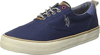 U.S.Polo ASSN. Sherman Suede, Zapatillas Altas para Hombre, Azul (Dark Blue Dkbl), 45 EU