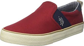 US Polo Association, Baskets Pour Femme Rouge Rosso - Rouge - Rosso, 39 EU
