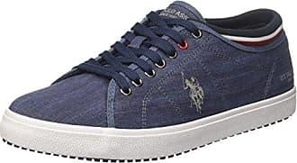 U.S.Polo ASSN. Ted, Zapatillas para Hombre, Azul (Dark Blue Dkbl), 41 EU
