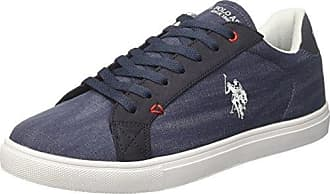 Theo, Baskets Homme, Bleu (Dark Blue Dkbl), 44 EUU.S.Polo Association