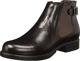 U.S. Polo Assn Solange Brown Leather, Schuhe, Stiefel & Boots, Chelsea Boots, Braun, Lila, Female, 36