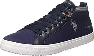 Mens Trev Trainers, Blu (Dark Blue) U.S.Polo Association