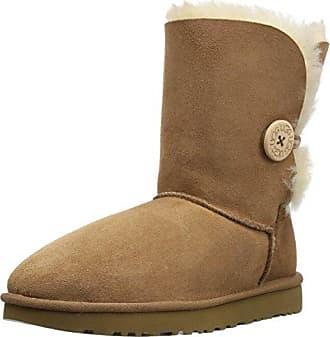 UGG Mini Bailey Bow II Chestnut, Schuhe, Stiefel & Boots, Stiefel aus Schafsleder, Braun, Female, 36