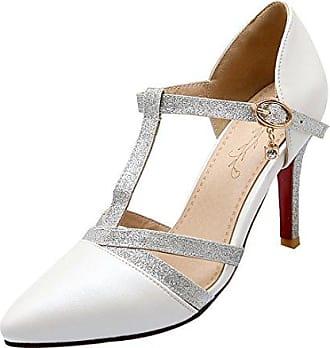 high heels in wei 596 produkte bis zu 67 stylight. Black Bedroom Furniture Sets. Home Design Ideas