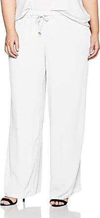 Weite Viskose Hose, Pantalon Femme, Bleu (Petrol 74), W44Ulla Popken