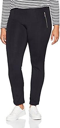 Urban Classic Ladies Side Stripe, Leggings para Mujer, Mehrfarbig (Black/White/Chromeyellow 01302), 42