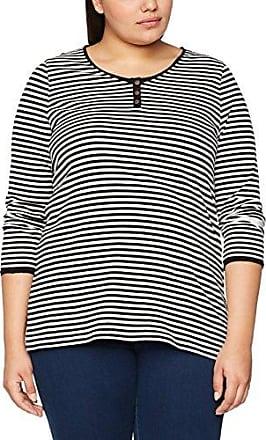 Womens Streifenshirt Mit U-Boot Ausschnitt Longsleeve T-Shirt Ulla Popken