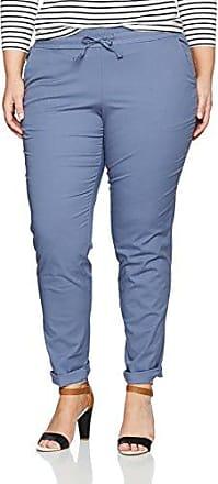 Jerseyhose Mit Pailletten, Rena, Pantalon Femme, Bleu (Dunkelblau 70), 50Ulla Popken