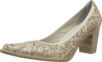 Un Matin d'Eté Opland, Zapatos de Tacón con Punta Cerrada para Mujer, Naranja (Chevre Movida Fauve), 36 EU