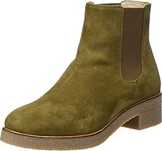 Imi412sof Washed, Bottes à Enfiler Femme - Vert - Grün (Forest Green)Softinos