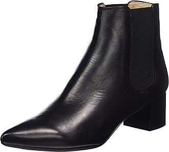 Unisa Niso_st - Botas Altas con Tacón para Mujer, Color Negro (Black), Talla 40.5 (Talla del Fabricante: 7 UK)