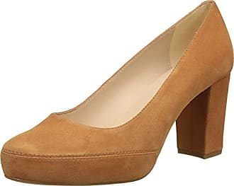 Logan_KS, Zapatos de Tacón con Punta Abierta para Mujer, Azul (Sapphire), 39 EU Unisa