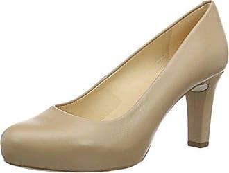 Kun_18_Na, Zapatos de Tacón para Mujer, Beige (Tawny), 39 EU Unisa