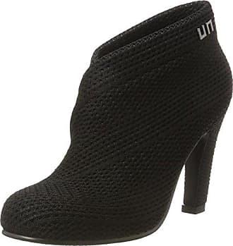 Fold Lite Mid - Zapatos de Tacón Mujer, Color Negro, Talla 37 United Nude