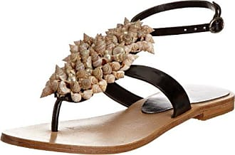 Nero 39 Unze Evening Sandals Sandali donna Schwarz L18518W Scarpe 00q