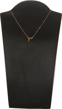 Uomolebole Necklaces, Gold, Silver 925 Galvanized Gold, 2017, One Size