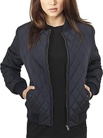Urban Classics Ladies Light Jacket, Chaqueta Bomber para Mujer, Oliva Profundo, L