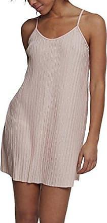 Urban Classics Striped Pleated Slip, Vestido para Mujer, Multicolor (White/Black 01248), Medium