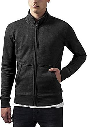 Arrow Zip Jacket, Chaqueta para Hombre, Mehrfarbig (Blk/Darkgrey/Lightgrey 860), S Urban Classics
