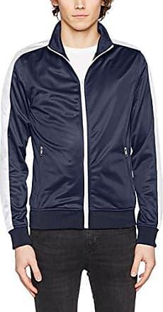 Track Jacket, Chaqueta para Hombre, Multicolor (Navy/Wht 159), Small Urban Classics