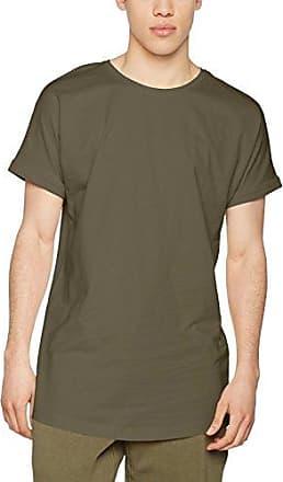 Ripped Pocket Tee, T-Shirt Homme, Vert (Olive 176), XLUrban Classics