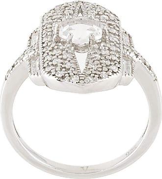 V JEWELLERY Shield ring - Metallic