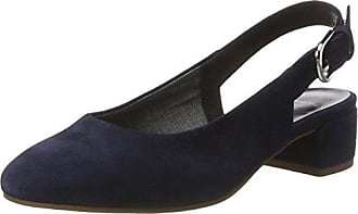 Jamilla, Zapatos de Tacón con Punta Cerrada para Mujer, Azul (Dark Blue 64), 38 EU Vagabond
