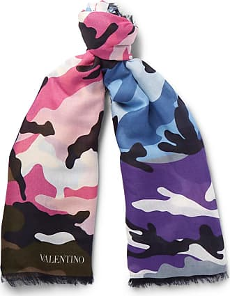 Scarf for Women On Sale, 140 X 140 Cm, Black, Cashmere, 2017, Universal Size Valentino