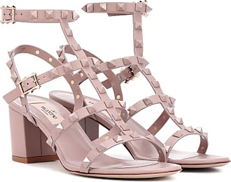 GARAVANI 11cm Leather Sandals with Studs Spring/summer Valentino
