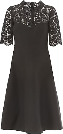 Dress for Women, Evening Cocktail Party On Sale in Outlet, Black, polyestere, 2017, 8 Valentino